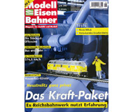 """модель Железнодорожный Моделизм 19801-85 Журнал """"Modell EisenBahner"""". Номер 6 / 2007. На немецком языке."""