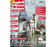 """модель Железнодорожный Моделизм 19802-85 Журнал """"Modell EisenBahner"""". Номер 7 / 2007. На немецком языке."""