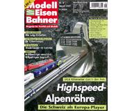 """модель Железнодорожный Моделизм 19803-85 Журнал """"Modell EisenBahner"""". Номер 8 / 2007. На немецком языке."""