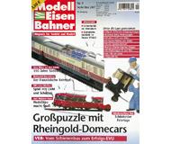 """модель Железнодорожный Моделизм 19804-85 Журнал """"Modell EisenBahner"""". Номер 9 / 2007. На немецком языке."""