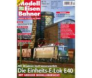 """модель Железнодорожный Моделизм 19805-85 Журнал """"Modell EisenBahner"""". Номер 10 / 2007. На немецком языке."""