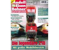 """модель Железнодорожный Моделизм 19807-85 Журнал """"Modell EisenBahner"""". Номер 12 / 2007. На немецком языке."""