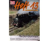 модель Железнодорожный Моделизм 19809-85 Журнал ModellEisenBahner Heft 13 1 / 2001. На немецком языке.