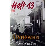 модель Железнодорожный Моделизм 19810-85 Журнал ModellEisenBahner Heft 13 2 / 2002. На немецком языке.