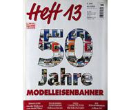 модель Железнодорожный Моделизм 19811-85 Журнал ModellEisenBahner Heft 13 3 / 2003. На немецком языке.