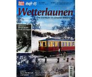 модель ModelRailroader 19812-85 Журнал ModellEisenBahner Heft 13 4 / 2004. На немецком языке.