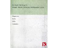 модель Horston 19820-85 Каталог продукции Kalmbach Publishing 2005 (журналы, книги, календари, DVD). 12 На английском языке.