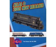 модель Железнодорожные модели 19836-85 Каталог ATLAS. Новинки 2005. Масшатб O. 20 стр. На английском языке.