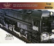 модель Железнодорожные модели 19839-85 Каталог BLI 2004. 50 стр. На английском языке.