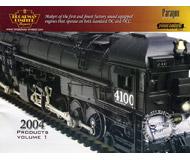 модель Железнодорожные модели 19840-85 Каталог BLI 2004. 50 стр. На английском языке.