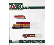 модель Железнодорожный Моделизм 19847-85 Каталог KATO (детали и запчасти). 74 стр. На английском языке.