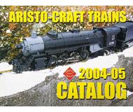 модель Железнодорожные модели 19853-85 Каталог ARISTO-CRAFT TRAINS 2004-2005. 80 стр. На английском языке.