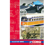 модель Железнодорожный Моделизм 19858-85 Каталог CORGI 2005. 30 стр. На английском языке.