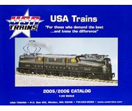 модель Железнодорожный Моделизм 19859-85 Каталог USA TRAINS 2005/2006. Масштаб 1:29. 112 стр. На английском языке.