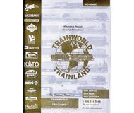 модель Железнодорожный Моделизм 19862-85 Каталог TRAINWORLD 2003/2004 - самого большого магазина жд моделей в США. 40 стр. На английском языке.