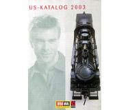 модель Железнодорожный Моделизм 19864-85 Каталог BRAWA - американские модели 2003. На немецком языке.