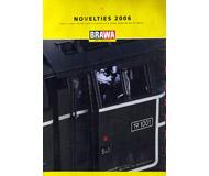 модель Железнодорожный Моделизм 19870-85 Каталог BRAWA Новинки 2006. 44 стр. На английском языке.