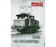 модель Железнодорожный Моделизм 19871-85 Каталог PIKO. Новинки 2002. На немецком языке.