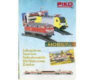 модель Железнодорожный Моделизм 19872-85 Каталог PIKO серия HOBBY 2002. На немецком языке.