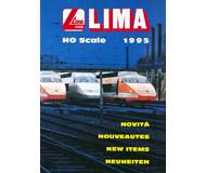 модель Железнодорожный Моделизм 19874-85 Каталог LIMA. Новинки 1995. 44 стр. На английском и других языках.