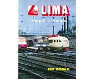 модель Железнодорожный Моделизм 19875-85 Каталог LIMA 1995/1996. 164 стр. На английском и других языках.