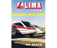 модель Железнодорожный Моделизм 19876-85 Каталог LIMA. Новинки 1996. 44 стр. На английском и других языках.