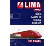 модель Железнодорожные модели 19878-85 Каталог LIMA. Новинки 1997. 52 стр. На английском и других языках.
