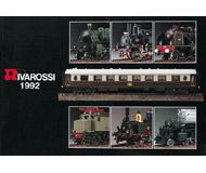 модель Железнодорожные модели 19879-85 Каталог RIVAROSSI 1992. 160 стр. На английском и других языках.
