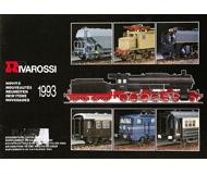 модель Железнодорожный Моделизм 19880-85 Каталог RIVAROSSI. Новинки 1993. 24 стр. На английском и других языках.