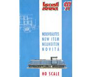 модель Железнодорожные модели 19885-85 Каталог JOUEF. Новинки 1997. 28 стр. На английском и других языках.