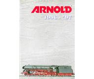 модель Железнодорожные модели 19887-85 Каталог ARNOLD 1996-97 140 стр. На английском и других языках.