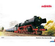 модель Железнодорожные модели 19888-85 Каталог MARKLIN. Новинки 2006. 72 стр. На английском и немецком языках.