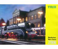 модель Железнодорожные модели 19889-85 Каталог TRIX. Новинки 2006. 56 стр. На английском и немецком языках.