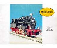 модель Железнодорожные модели 19890-85 Каталог MODEL LOCO 1995/96. 32 стр. На английском, французском и немецком языках.