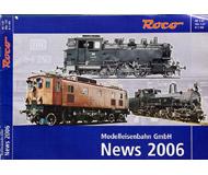 модель Железнодорожные модели 19894-85 Каталог ROCO. Новинки 2006. 76 стр. На английском и немецком языках.
