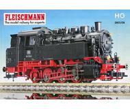 модель Железнодорожные модели 19895-85 Каталог Fleischmann 2003/2004. 212 стр. На английском языке.