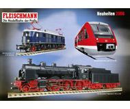 модель Железнодорожные модели 19897-85 Каталог Fleischmann. Новинки 2006. 40 стр. На английском и немецком языках.