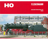 модель Железнодорожный Моделизм 19898-85 Каталог Fleischmann. Новинки 2009. 52 стр. На немецком языке.