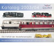 модель Железнодорожный Моделизм 19899-85 Каталог Liliput 2003/2004. 104 стр. На немецком языке.
