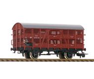 модель Железнодорожные модели 19934-40 Комиссионная модель. Вагон для перевозки животных. Стандартные сцепки с накидной петлей. Металлические колесные пары. Отломано одно зеркало и поручень, нет одной сцепки. Производство PIKO (ГДР). Без коробки.