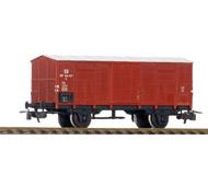 модель Железнодорожные модели 19941-40 Комиссионная модель. Двухосный товарный вагон DR. Стандартные сцепки с накидной петлей. Металлические колесные пары. Нет одного буфера. Отломана часть подножки. Производство PIKO (ГДР). Без коробки.