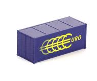 модель Железнодорожные модели 19985-40 Комиссионная модель. 20-футовый контейнер. Производство ROCO.