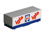 модель Железнодорожные модели 19988-40 Комиссионная модель. Прицеп-контейнер IGLA, устанавливается на специальных вагонах. Производство ROCO.