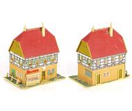 модель Железнодорожные модели 19997-40 Комиссионная модель. Жилой дом с магазином. Производство VERO (ГДР).