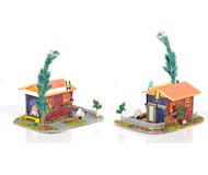 модель Железнодорожные модели 20001-40 Комиссионная модель. Небольшой домик с вывеской пивного бара.