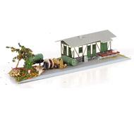 модель Железнодорожные модели 20004-40 Комиссионная модель. Товарная станция.