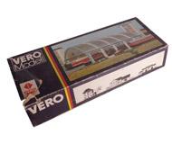 модель ZYX 20044-1 Комиссионная модель. Коробка от набора для сборки вокзала. VERO (ГДР). Торцы отсутствуют.