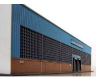 модель Horston 20196-1 Здание для заднего фона макета/диорамы - склад Lakeville.
