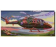 модель Horston 20206-1 Сборная модель вертолета Линкс. Масштаб 1:72.  Производство АОЗТ Кругозор.