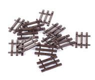 модель Horston 20208-1 Окончание для флексов - шпалы деревянные. Артикул по каталогу ROCO 42600 12 шт. Цена за комплект. Новые, в коробке.